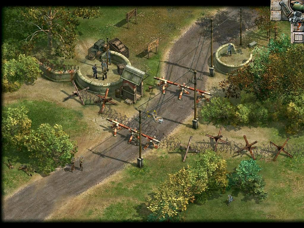 Commandos Behind Enemy Lines gameplay
