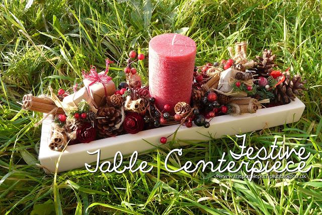 Festive Table Centerpiece | The Purple Pumpkin Blog