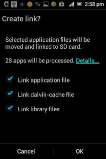 Cara Memindahkan Aplikasi ke SD Card Menggunakan Link2SD di android