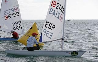 VELA-Hoy se han conseguido dos plazas olímpicas españolas en Perth
