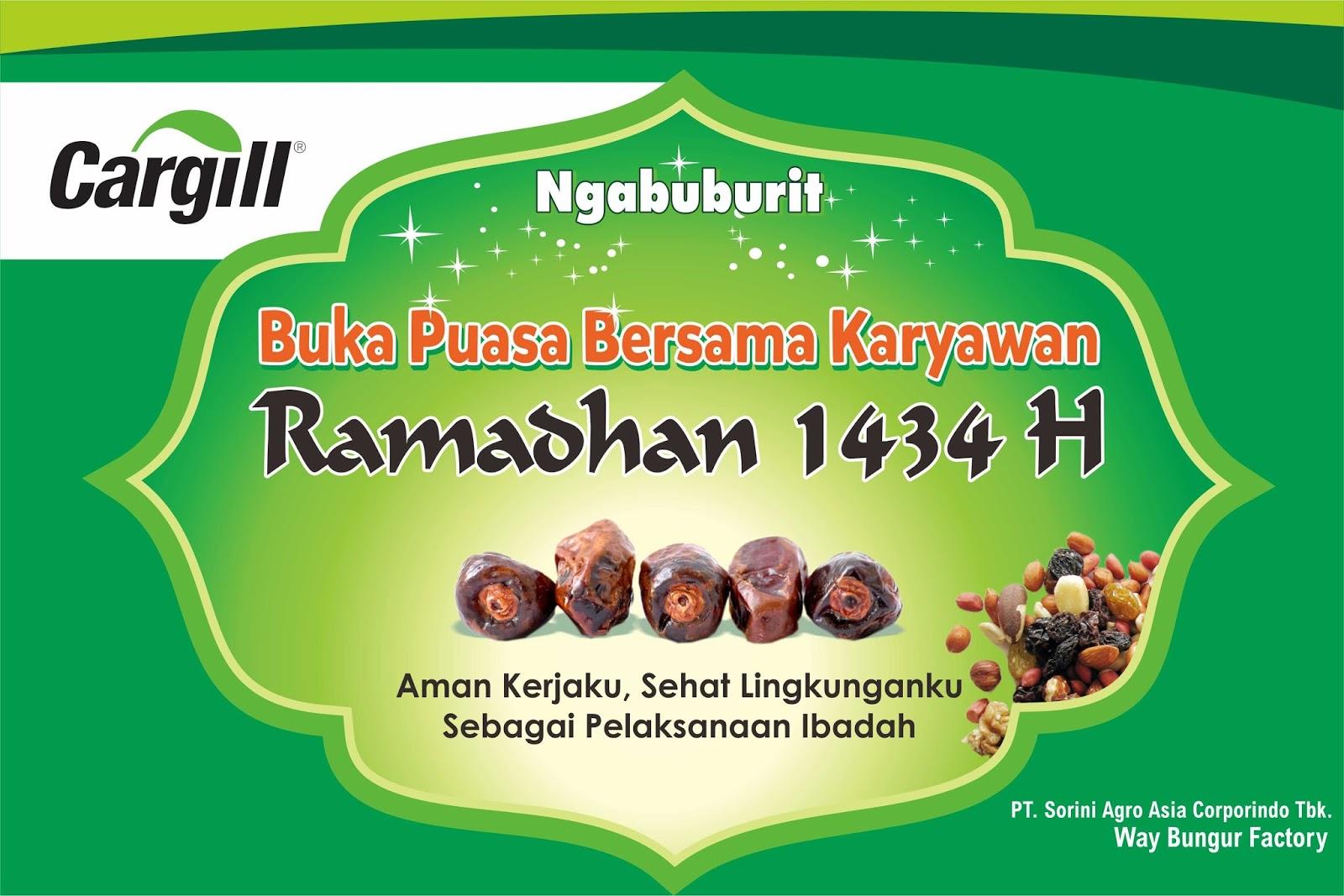 Desain Buka Puasa Bersama Ngabuburit