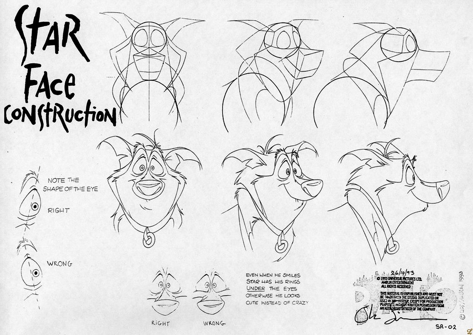 cartoon concept design  character design balto part 4