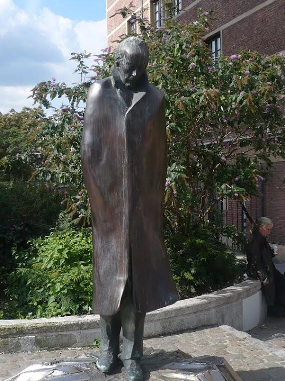 Brüsszel - Bartók Béla szobra