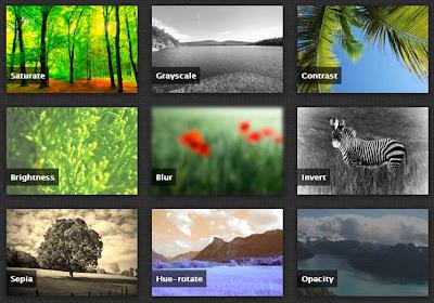 Efek Hover Gambar dengan CSS Filter