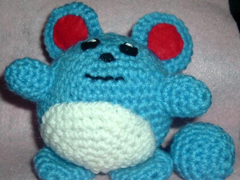 Free Amigurumi Patterns Christmas : 2000 Free Amigurumi Patterns: Marill Pokemon Crochet Pattern