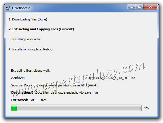 How To Create Bootable USB Drive For Bitdefender Rescue Disk   Experts Galaxy