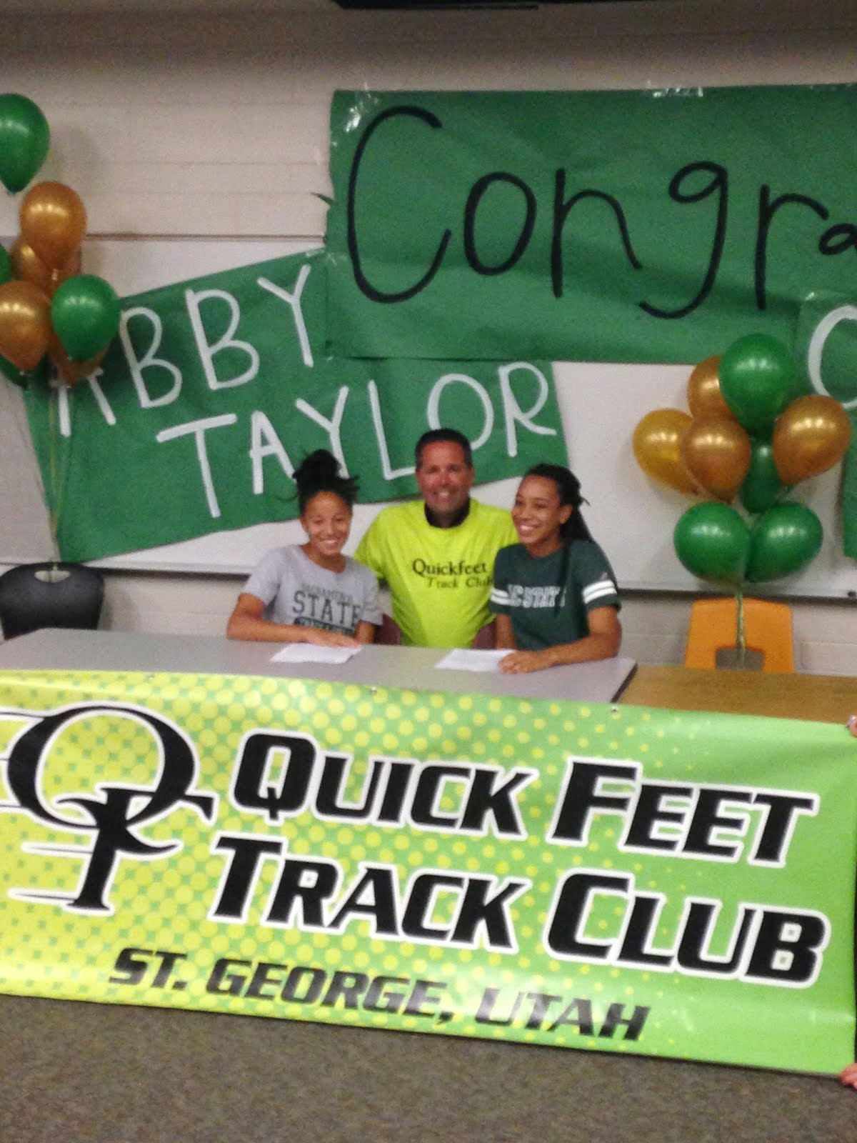 Quickfeet College Signings