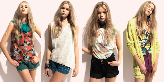 Lookbook Pull and Bear verano 2012