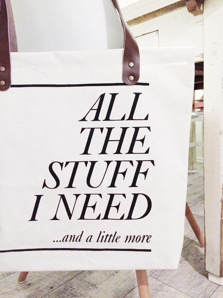 Mmi, mittwochs mag ich, Kanvastasche, Umhängetasche, Stofftasche, House Doctor, All the stuff I need, Überraschung
