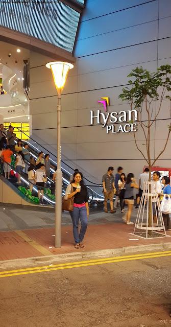 Causeway Bay shopping