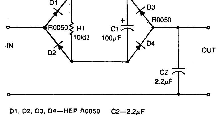 simple low pass filter circuit diagram