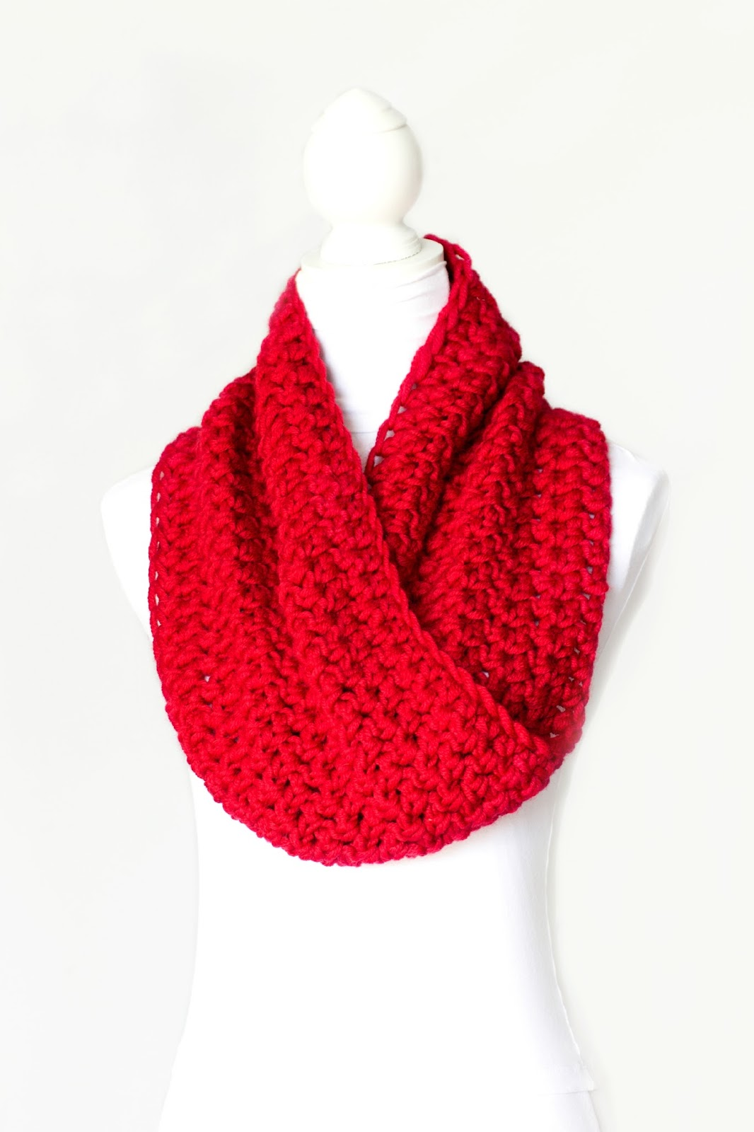 Crochet Patterns Cowl : Hopeful Honey Craft, Crochet, Create: Classic Cowl Crochet Pattern
