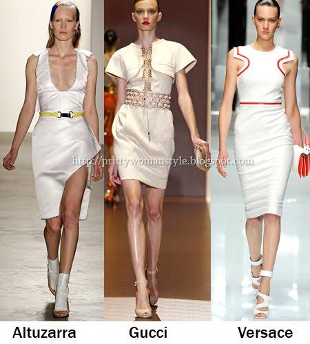 къси бели рокли за лятото