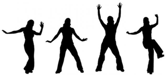zumba dancers silhouetteZumba Silhouette