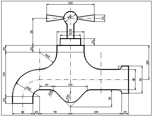 Bloques de autocad 2d dwg gratis figuras para autocad of cocinas en 2d autocad - Bloques autocad grifos ...