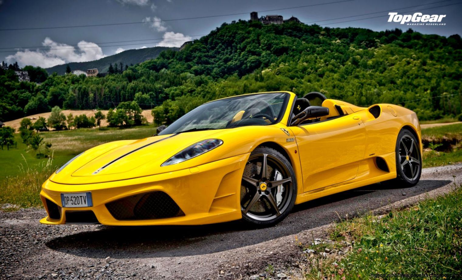 yellow ferrari f430 scuderia spider wallpapers hd high