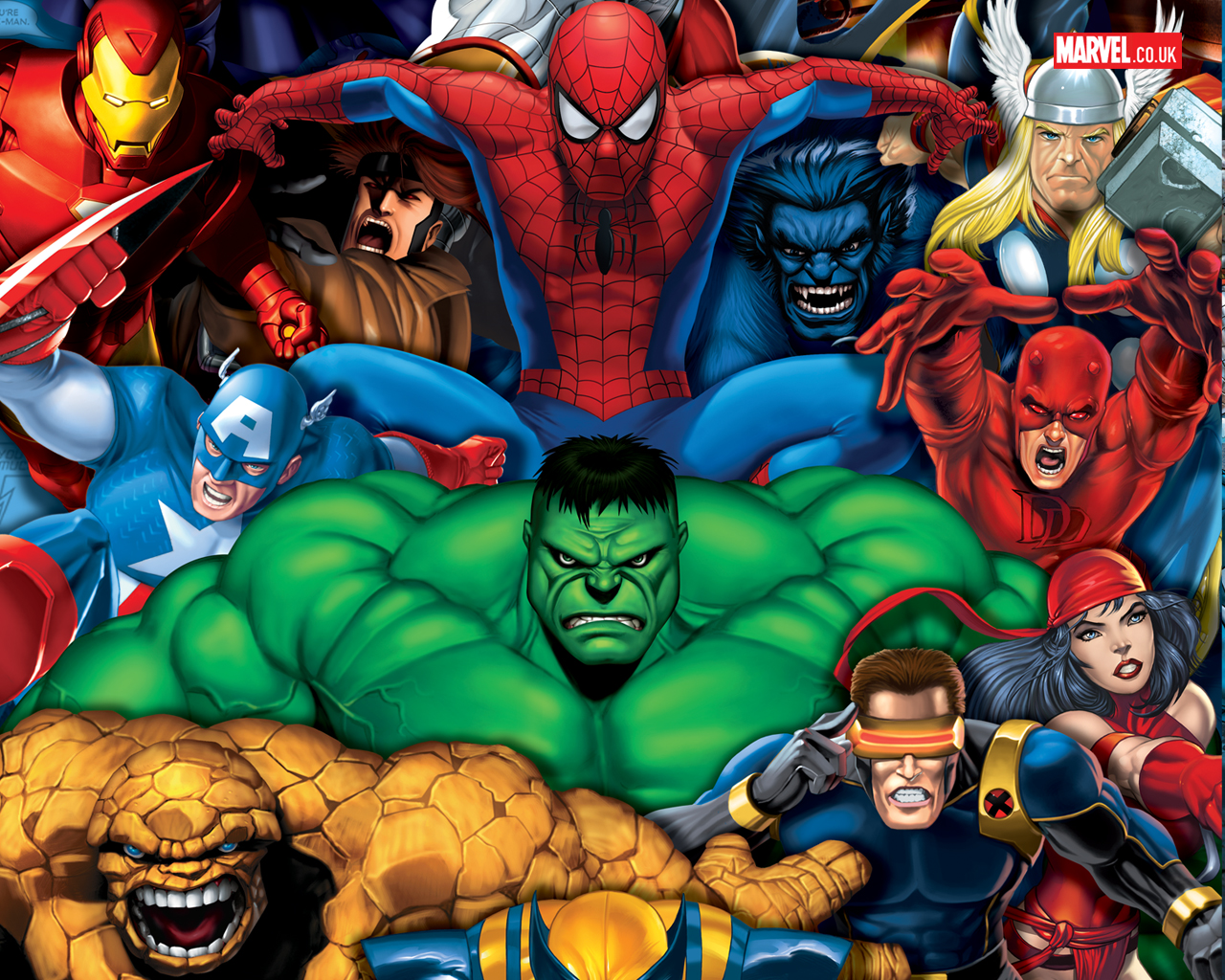 Historia da marvel comics