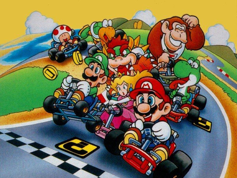 Of all Mario?s diversions when not saving Princess Peach, Karting