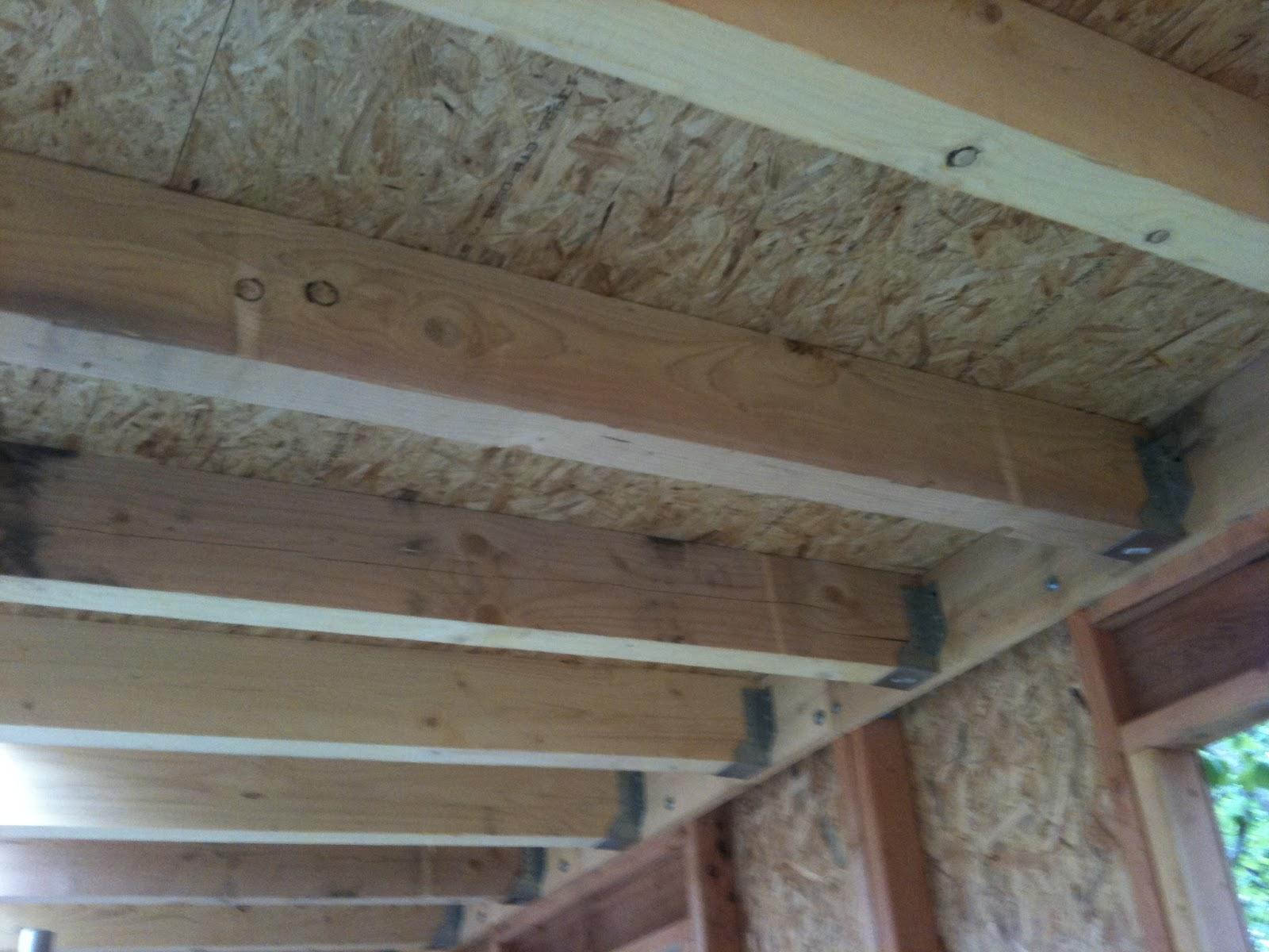 Travaux domicile pose du plancher osb sur le toit for Pose de plancher osb