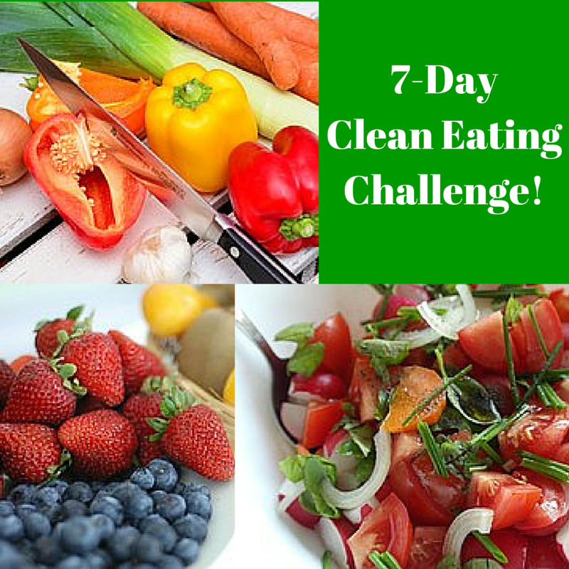 FREE 7-Day Clean Eating Challenge