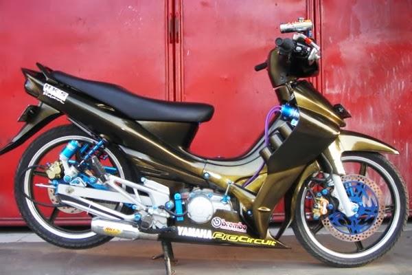 Gambar Dan Foto Modifikasi Motor Yamaha Jupiter Z