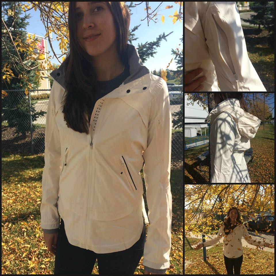 lululemon angel wing rain runner jacket