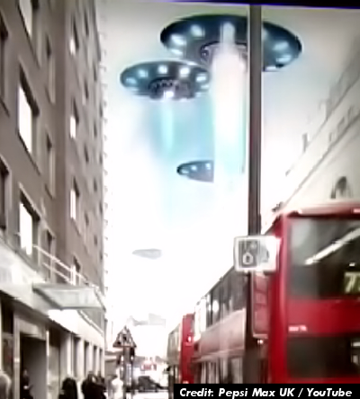 UFOs, Giant Robots, Mutants and Tigers Spotted in The UK 3-20-14