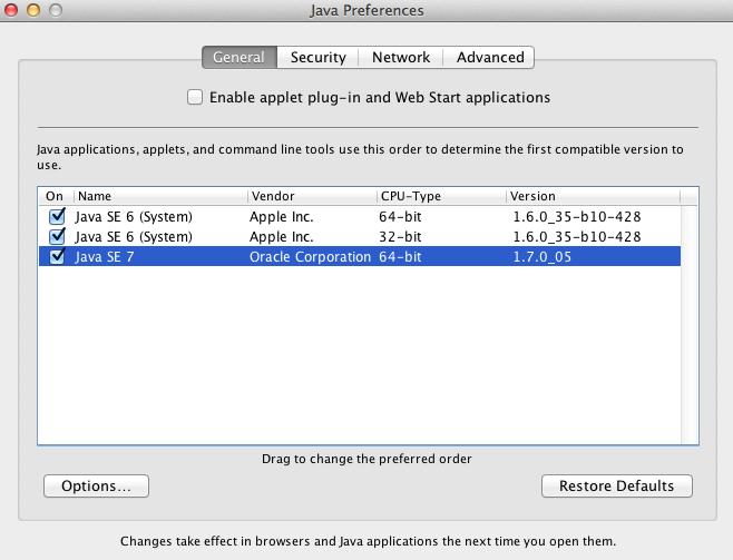 Java development kit java 6 update 24 64 bit