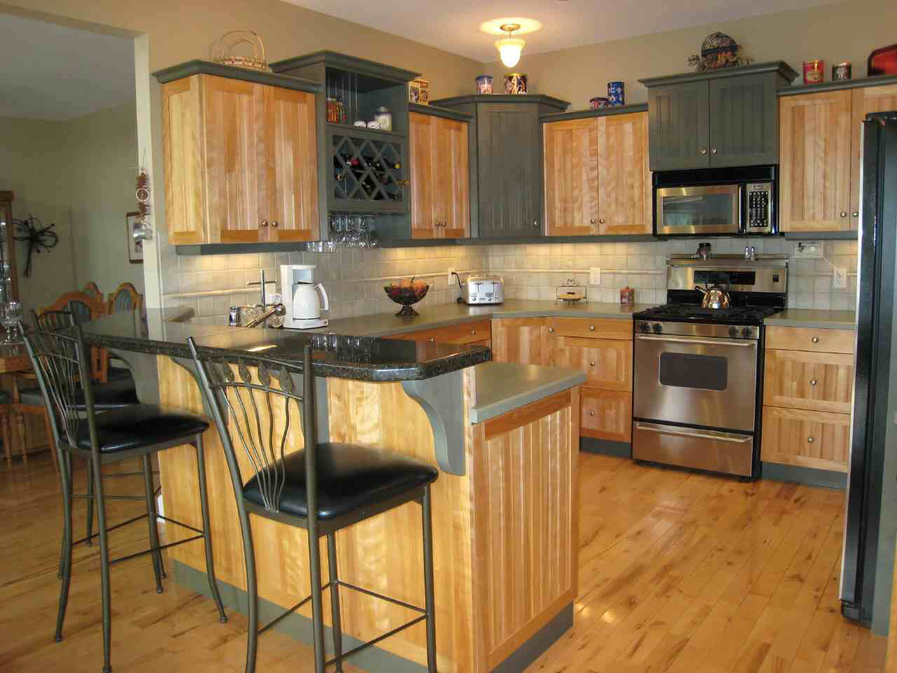 Beautiful kitchen designs decorating ideas for Kitchen decorating ideas pictures
