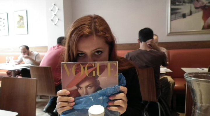 me@London,Soho with Vogue Italia