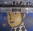 Linoldruckalender 2012