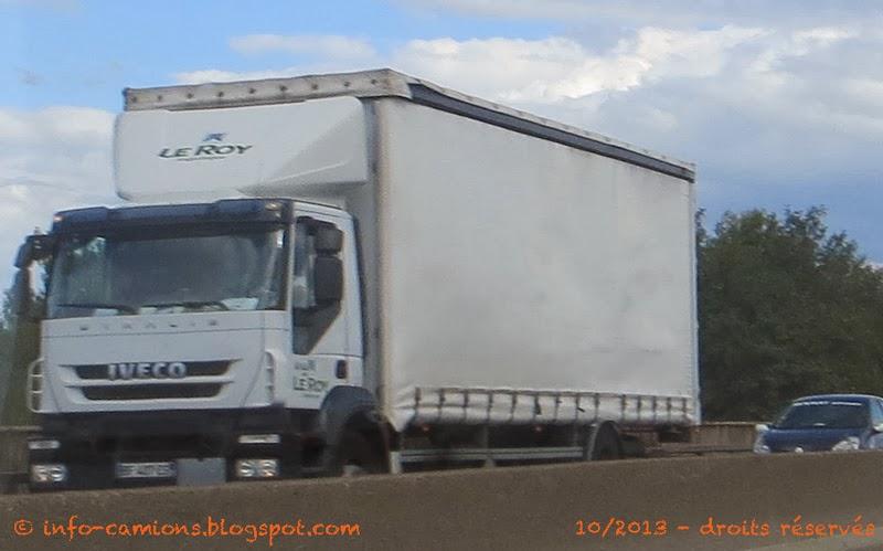 Info camions iveco stralis le roy logistique - Le roy logistique ...
