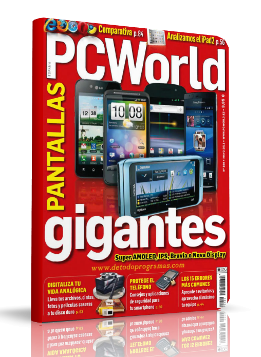 Revista: PC World [España] - Mayo 2011 [37.57 MB | PDF]
