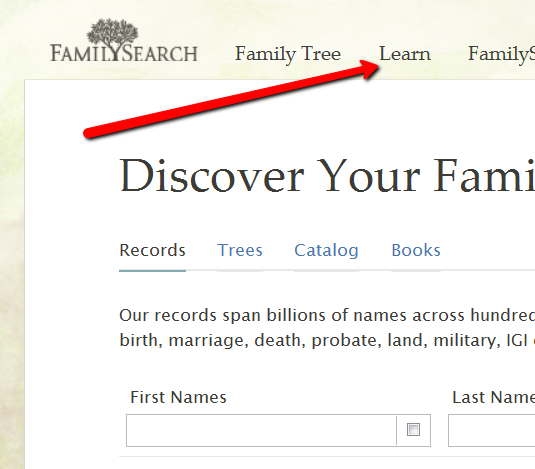 how to find your ancestors names