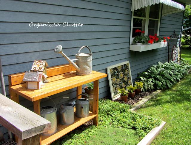 Garden Junk Decor