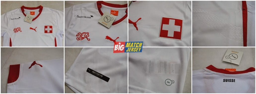 Detail Jersey Grade Ori Away Swiss Piala Dunia 2014