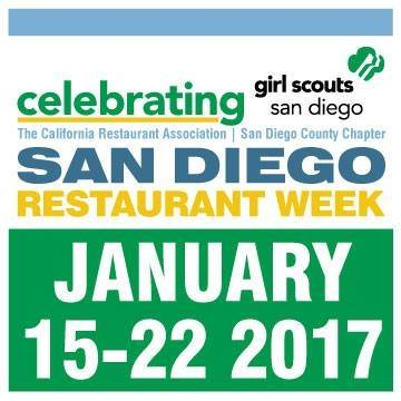 Don't Miss San Diego Restaurant Week's Winter Edition - January 15-22