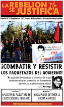 La Rebelión se Justifica N°11, Septiembre 2017