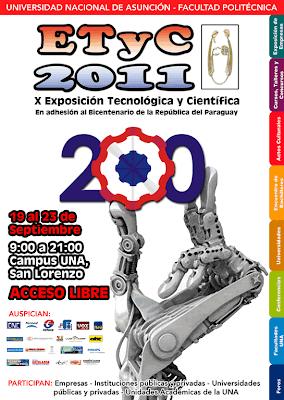 Imagen del afiche de la ETyC 2011