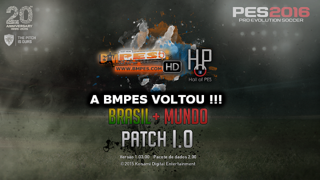 PES 2016 - PATCH BMPES BRASIL + MUNDO 1.0 [Torrent]