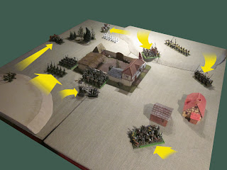 Warhammer Fantasy Battle Report at the Leaping Wolf Inn