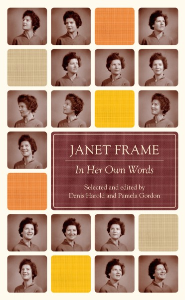Anna Egan Reid Is A Finalist For Young Designer Of The Year At 2012 PANZ Book Design Awards Her JANET FRAME IN HER OWN WORDS Has Not Only