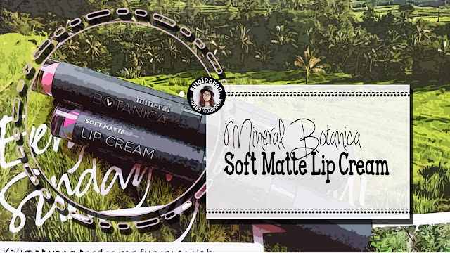 Mineral Botanica Soft Cream Lip Cream