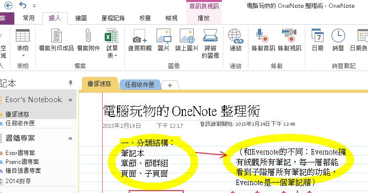 值得一試的五個 OneNote 專業級功能,今天免費開放