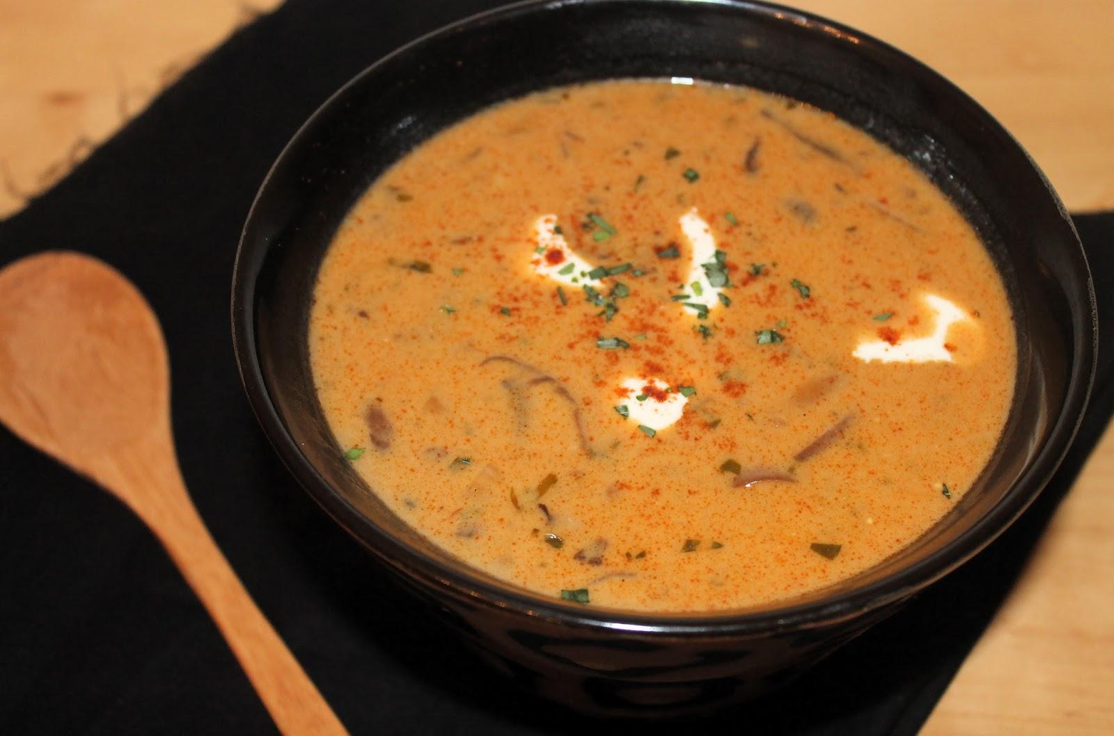 Savory Moments: Hungarian mushroom soup