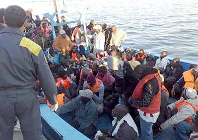 Lampedusa refugees #22