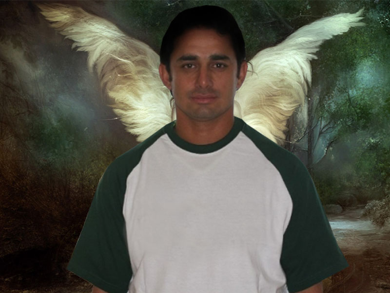 Saeed Ajmal Latest Wallpapers 2012 | Sports Wallpapers