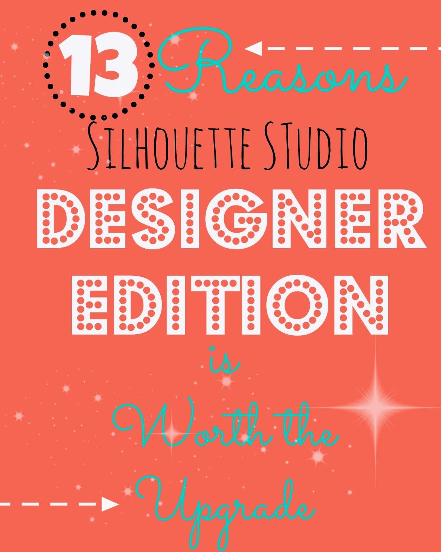 Silhouette Studio Designer Edition Classes