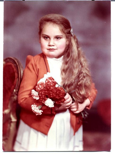 Tania Trahman la petite fille de Boris Vatav Chisinau Moldova