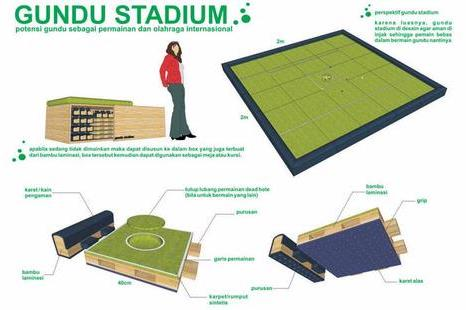 Gundu Stadium, Arena Khusus Main Kelereng